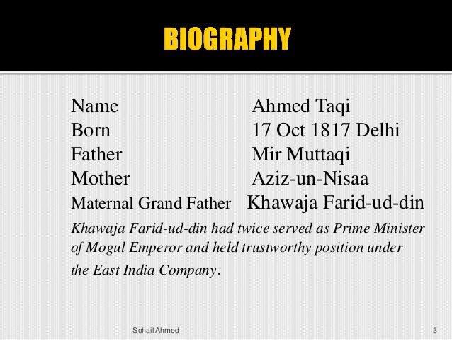 Sir Syed Ahmed khan ,by Sohail Ahmed Slide 3