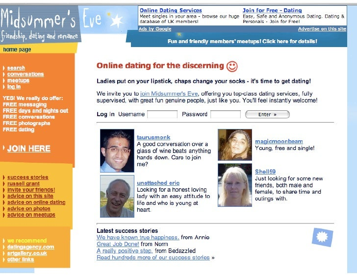 dating rules free online