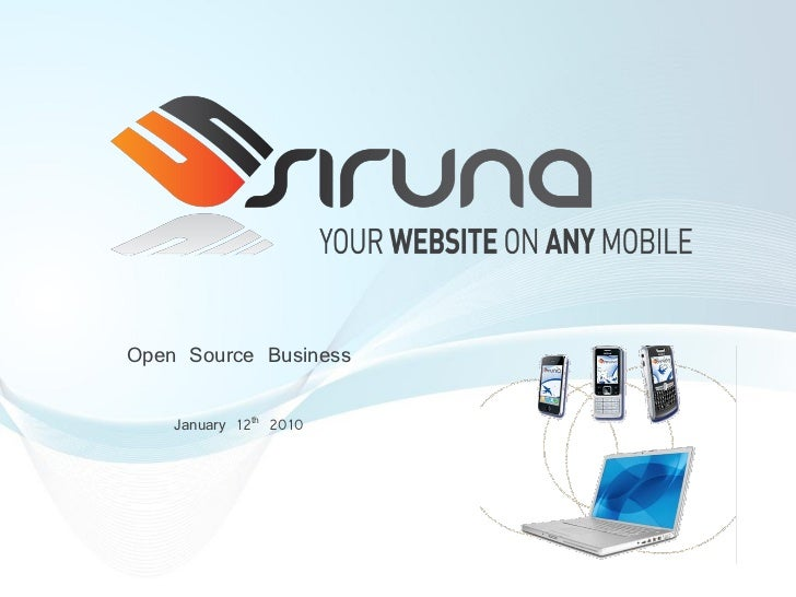 Open Source Business      January 12th 2010