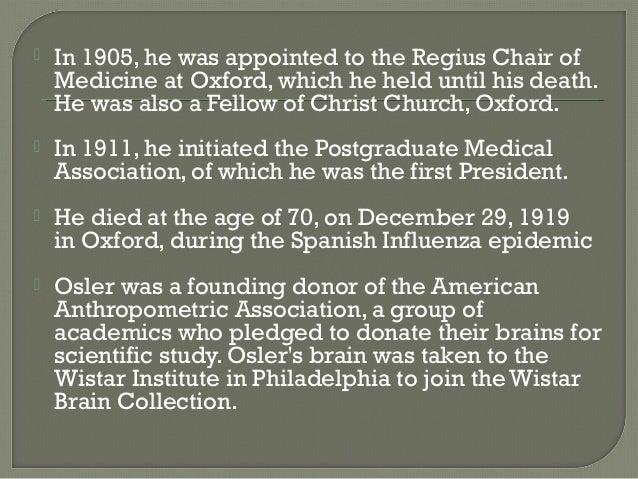 William Osler  the Man  Classic Reprint  McGill Library Blogs   McGill University