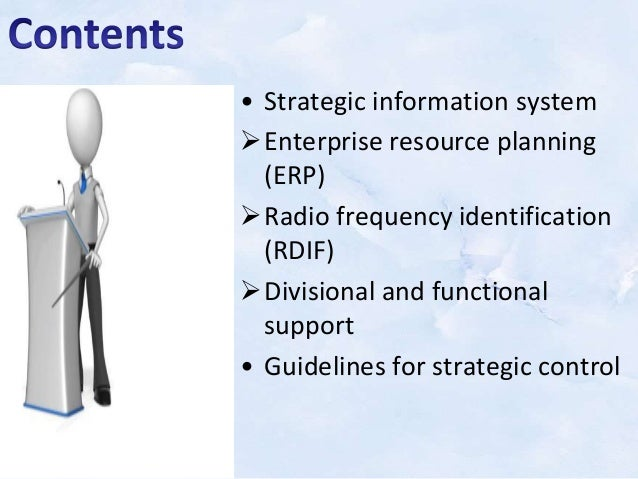 strategic information systems notes Learning objectives after reading this chapter, you will be able to answer the following questions: which features of organizations do managers need to know about to develop and use information systems successfully.