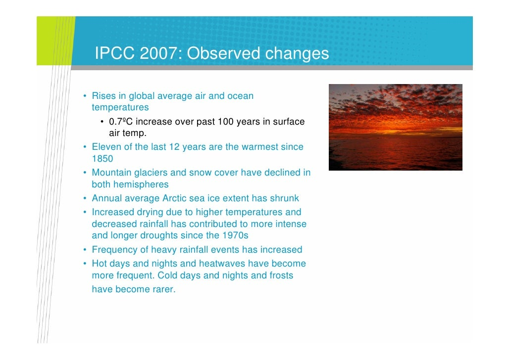 SiS Climate Change The Latest News Holper 2007