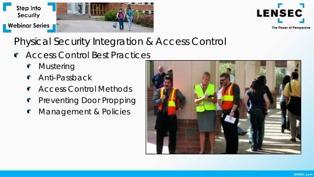 Step Into Security Webinar Physical Security Integration