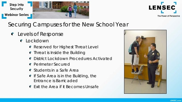 Step Into Security Webinar Securing Campuses For The New