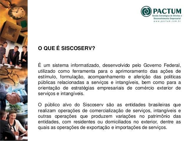 Palestra   Siscoserv Slide 3