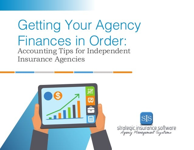 Getting Your Insurance Agency Finances in Order ...