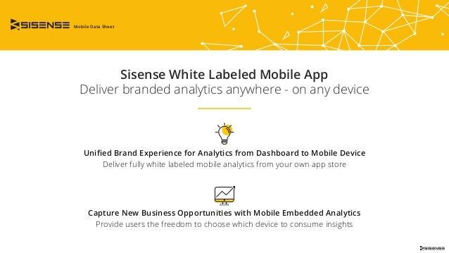 Sisense White Labeled Mobile App