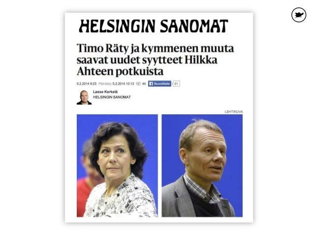 Finnairin johdon ja työntekijöiden vastakkainasettelu on ryöpsähtänyt myös otsikoihin. Mediassa ovat puhuttaneet mm. johdo...
