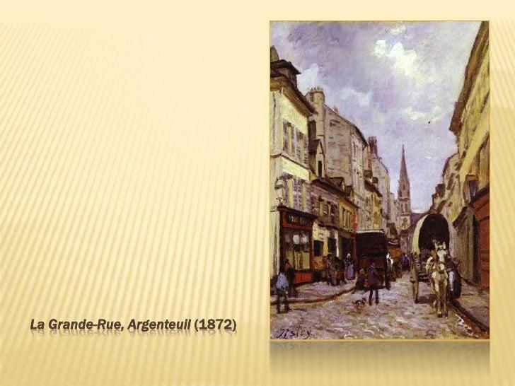 La Grande-Rue, Argenteuil (1872)<br />
