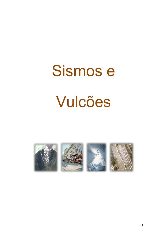 Sismos eVulcões           1