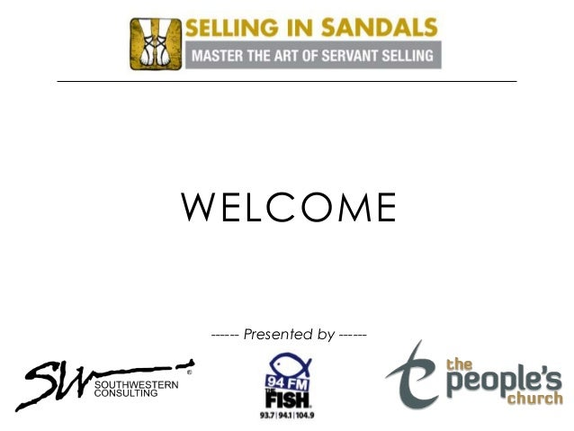 WELCOME ------ Presented by ------