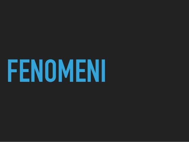 FENOMENI
