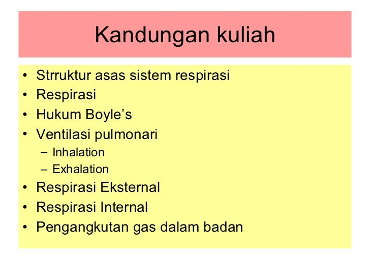 Sistem Respiratori Slide 2