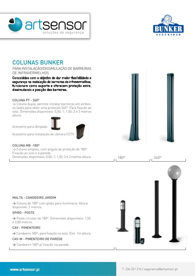 Sistema colunas Bunker