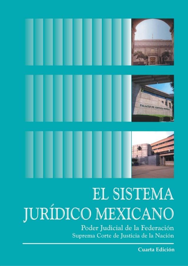 El Sistema Jurídico    Mexicano