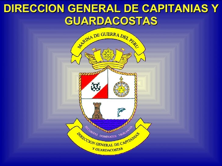 DIRECCION GENERAL DE CAPITANIAS Y GUARDACOSTAS