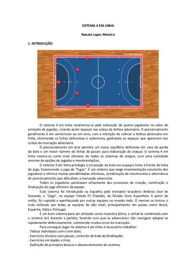 23434568b66e7 SISTEMA 4 EM LINHA Renato Lopes Moreira 1. INTRODUÇÃO O sistema 4 em linha  caracteriza ...