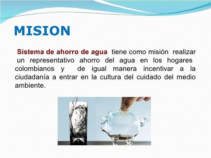 Sistema ahorro agua for Ahorro de agua