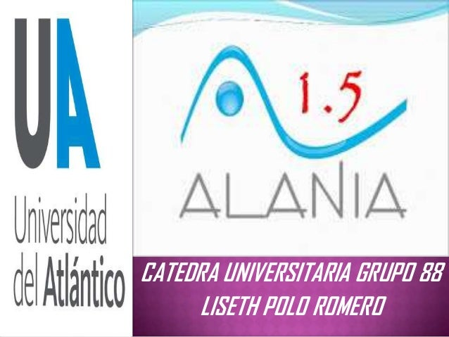 CATEDRA UNIVERSITARIA GRUPO 88LISETH POLO ROMERO