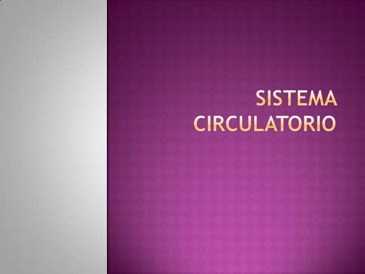  La sangre viaja paralelamente por el organismo a  través de dos circuitos del sistema vascular. Por un lado, la  circul...