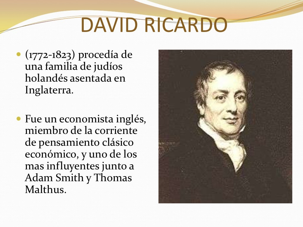 adam smith and david ricardo Technical progress, capital accumulation and income distribution in classical economics: adam smith, david ricardo and karl marx heinz d kurz the past is a foreign country, where we come from.