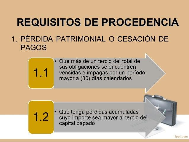 REQUISITOS DE PROCEDENCIAREQUISITOS DE PROCEDENCIA