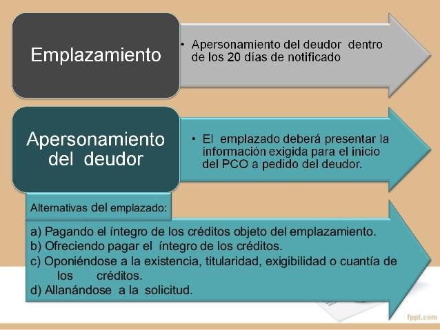 PROCEDIMIENTO CONCURSALPROCEDIMIENTO CONCURSAL PREVENTIVO (PCP)PREVENTIVO (PCP)