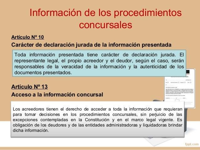PROCEDIMIENTO CONCURSALPROCEDIMIENTO CONCURSAL ORDINARIO (P.C.O.)ORDINARIO (P.C.O.)