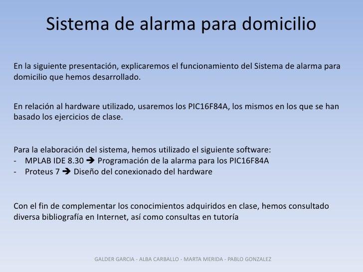 Sistema de alarma para domicilio 2 for Sistema de alarma