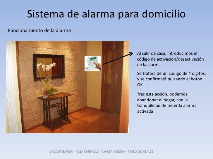 Sistema de alarma para domicilio 2 - Sistemas de alarma ...