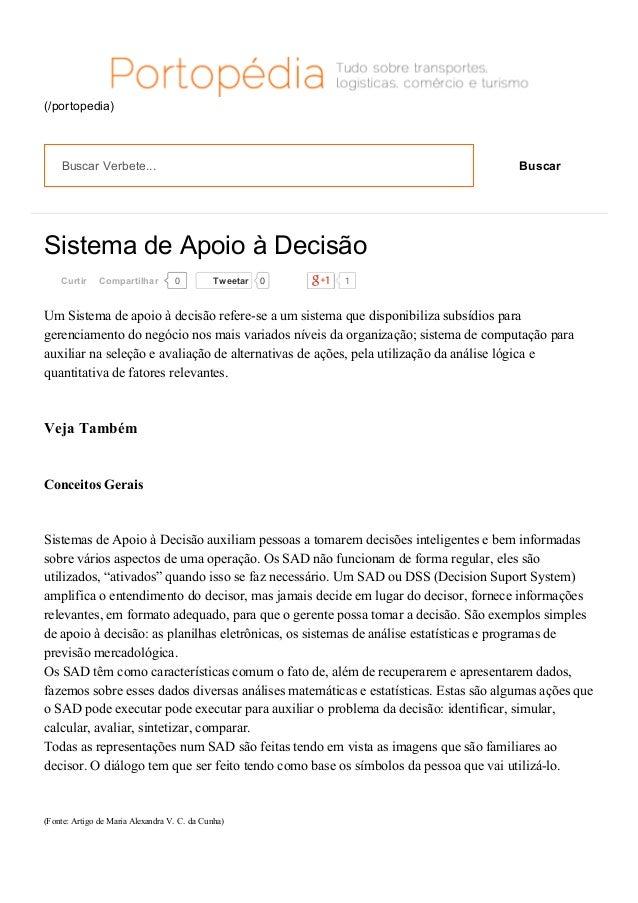 12/04/2015 SistemadeApoioàDecisãoPortogente https://portogente.com.br/portopedia/sistemadeapoioadecisao74775 1...