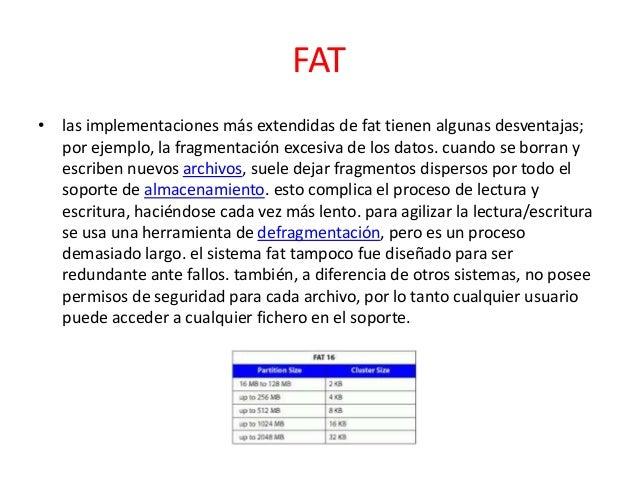 Sistema de  archivos Slide 3