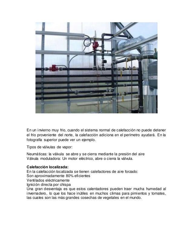 Sistema de calefaccion en invernadero - Tipos de calefaccion economica ...