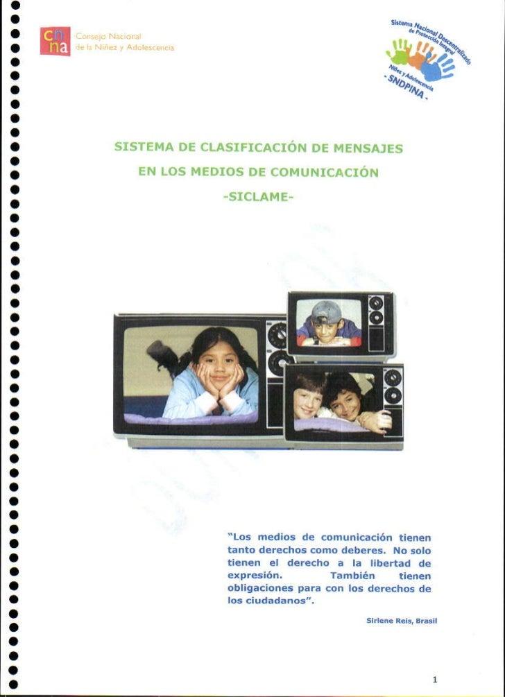 Sistema de clasificación de mensajes en los medios de comunicación