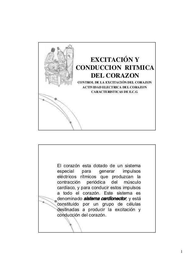 EXCITACIÓN Y        CONDUCCION RITMICA           DEL CORAZON         CONTROL DE LA EXCITACIÓN DEL CORAZON                 ...