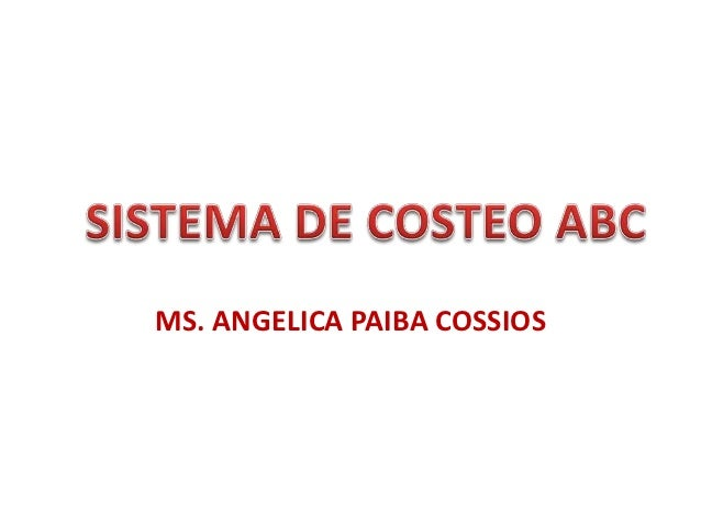 MS. ANGELICA PAIBA COSSIOS