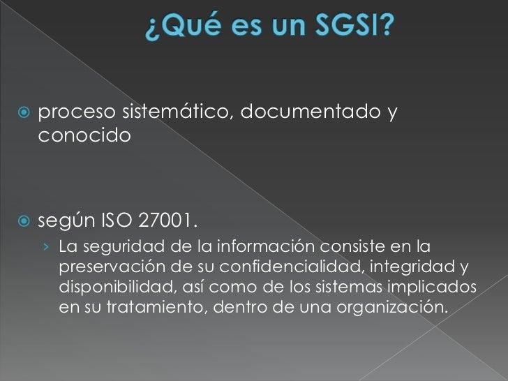 Sistema de gestión de Seguridad Informatica  Slide 3