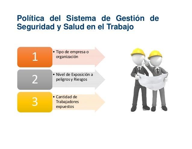 Sistema de gestion de seguridad y salud en el trabajo ley - Sistemas de seguridad ...