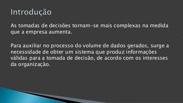 Sistema de informação gerencial Slide 2