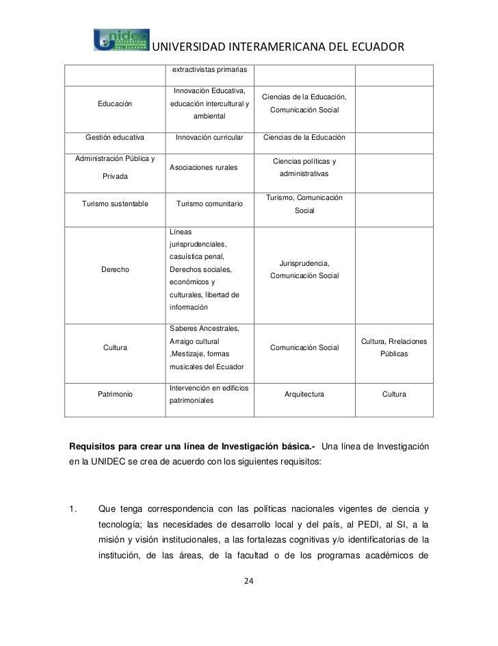 UNIVERSIDAD INTERAMERICANA DEL ECUADOR                              extractivistas primarias                              ...