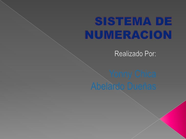 INTRODUCCIÓN  Los números se pueden representar en distintos  sistemas de numeración que se diferencian entre si  por su b...