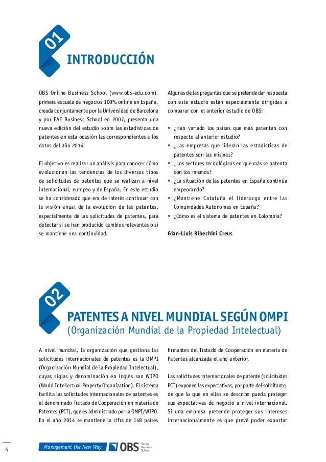 El sistema de patentes 2015 an lisis de la situaci n internacional - Oficina europea de patentes y marcas alicante ...