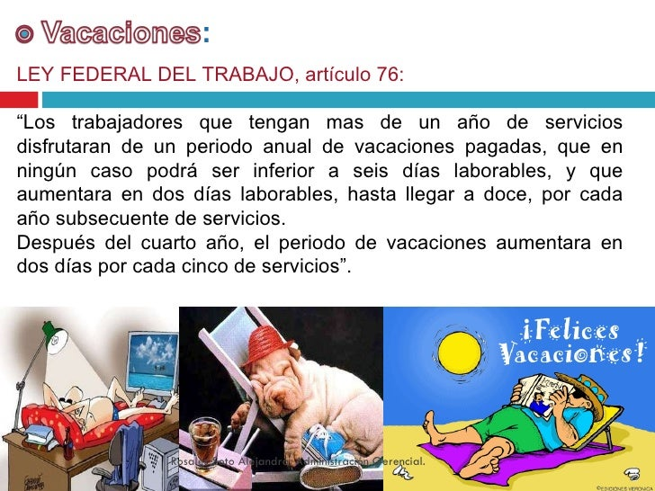 Prestaciones Laborales En Mexico Ley Federal Del Trabajo Consulta
