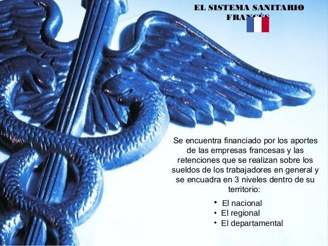  Los gastos que se destinan al sistema sanitario en Francia son aportados a través del Parlamento en hospitales, clínicas...