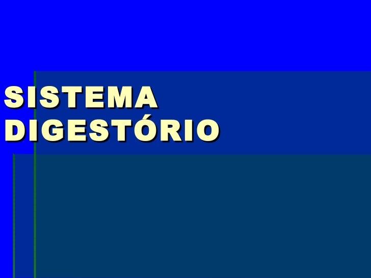 SISTEMADIGESTÓRIO
