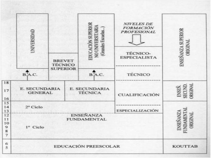 Sistema educativo marroqu for Educacion exterior marruecos