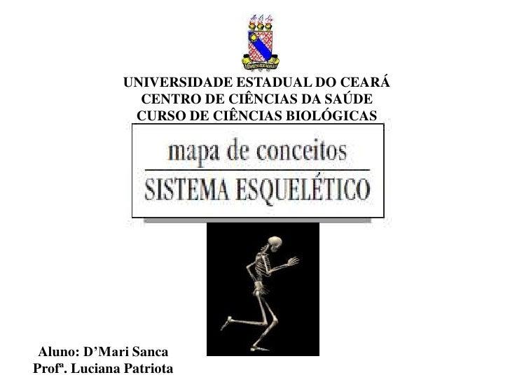 UNIVERSIDADE ESTADUAL DO CEARÁ                CENTRO DE CIÊNCIAS DA SAÚDE               CURSO DE CIÊNCIAS BIOLÓGICAS Aluno...