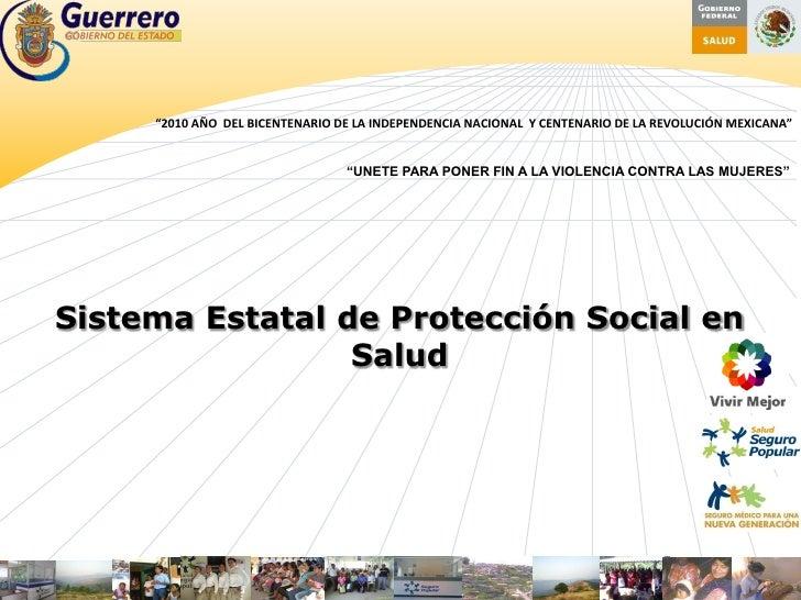 """""""2010 AÑO DEL BICENTENARIO DE LA INDEPENDENCIA NACIONAL Y CENTENARIO DE LA REVOLUCIÓN MEXICANA""""                           ..."""
