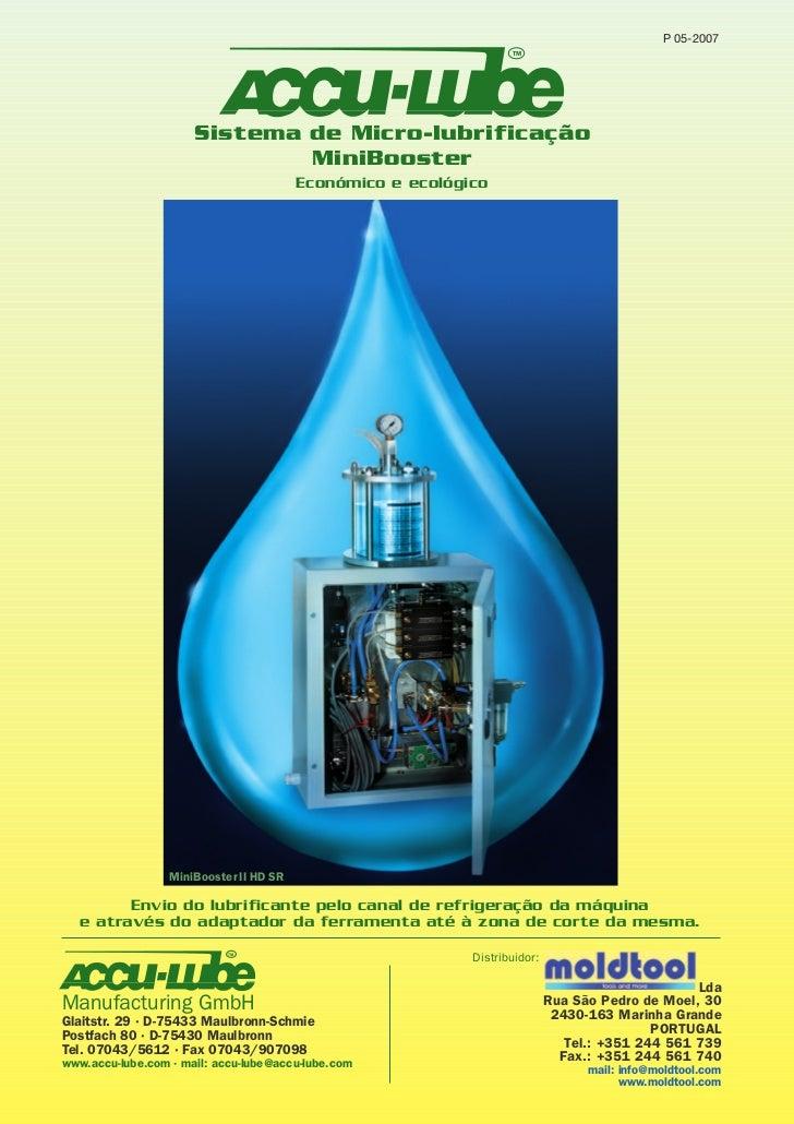 P 05-2007                                                                   TM                      Sistema de Micro-lubri...