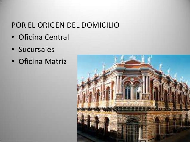 Domicilio Central De Caf Banco De Desarrollo